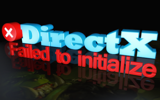 Ошибка failed to initialize direct3d