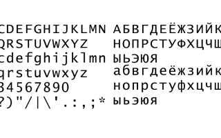 Шрифты для powerpoint 2020