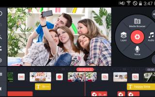 Приложения для редактирования видео на телефоне