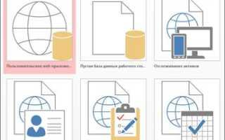 Основы работы в access