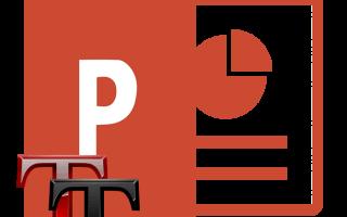 Как добавить шрифт в powerpoint